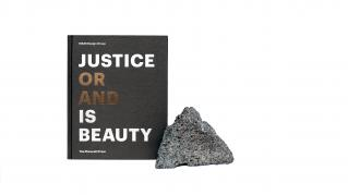 Justice is Beauty with volcanic rock